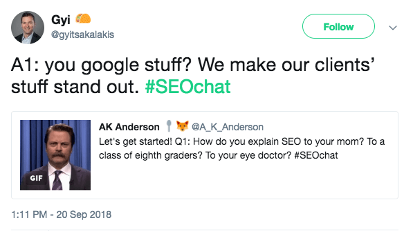 You Google stuff? We make our client's stuff stand out.