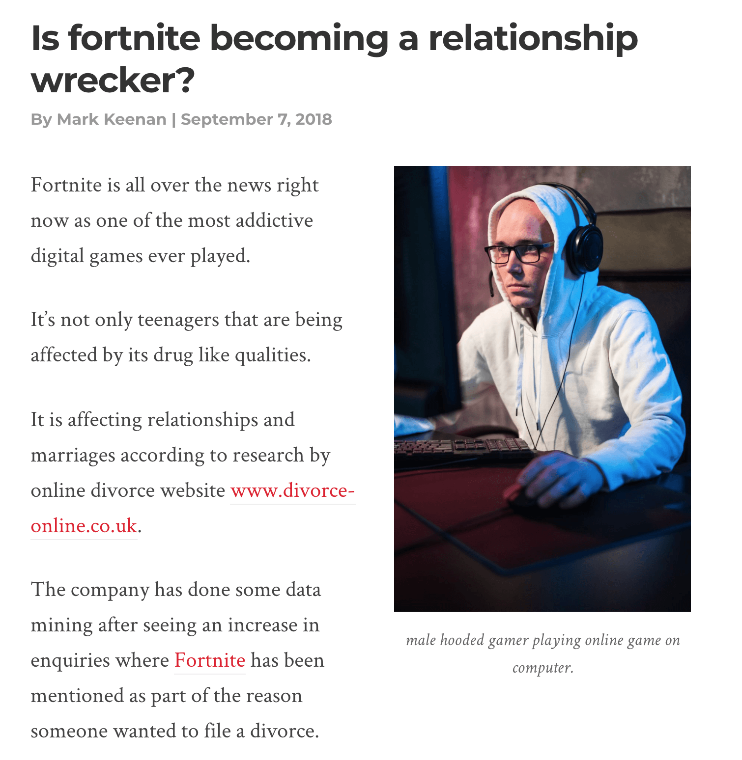 Is Fortnite Ruining Relationships?