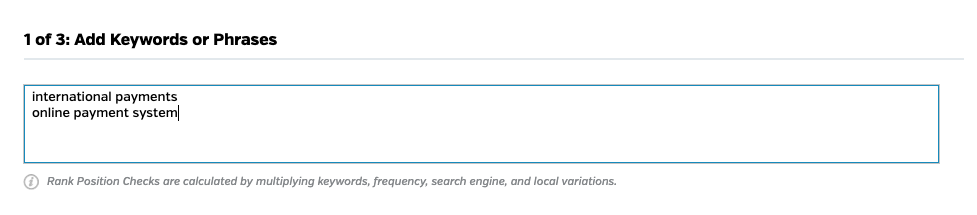 Raven Tools has a Bing Rank Tracker tool where you can add specific keywords or phrases to focus on.