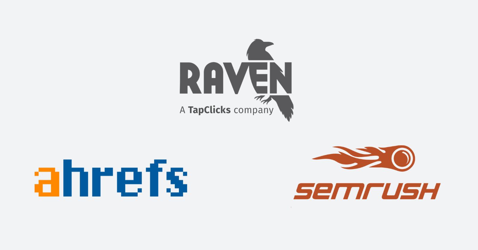 Ahrefs vs SEMrush vs Raven Tools: SEO Software Comparison