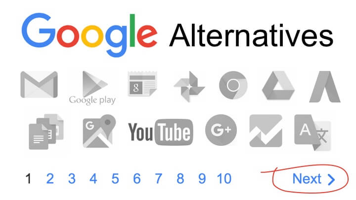 The Best Google Alternatives For Search and Everything Else