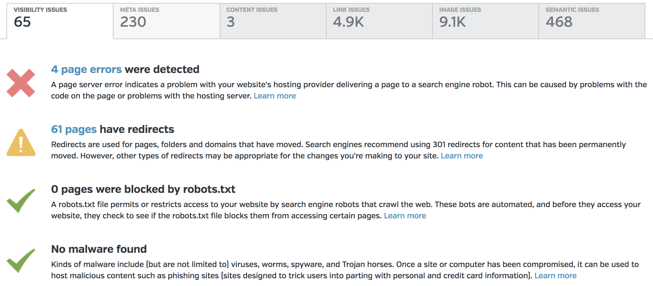 Site Auditor for Onpage Technical SEO Audits